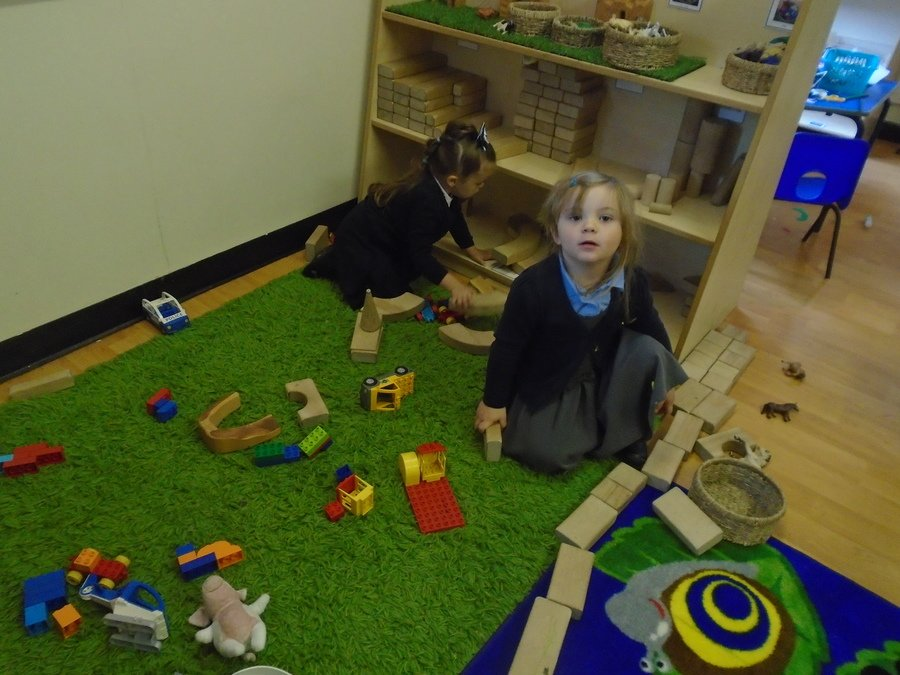 The children have spent time building and creating their own models.