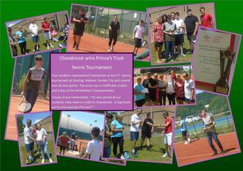 July - P.T. to Wimbledon