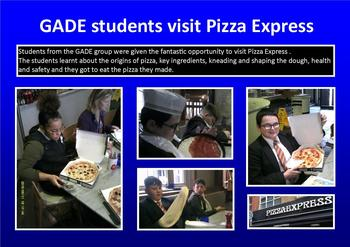 September - GADE students visit Pizza Express
