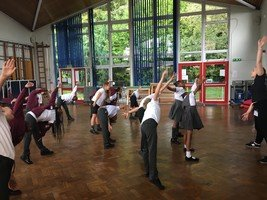 Year 4  Elm started musical theatre lessons