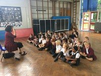 Reception - Year 2 started their music classes