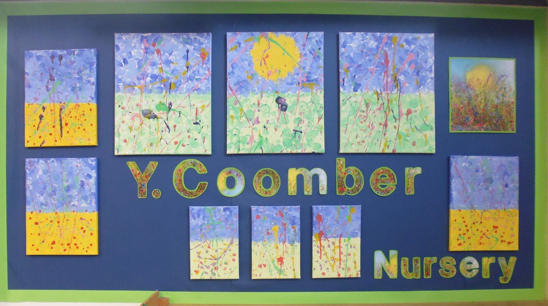 Nursery Artwork of Coomber