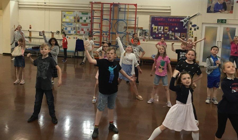 Dance in Y5
