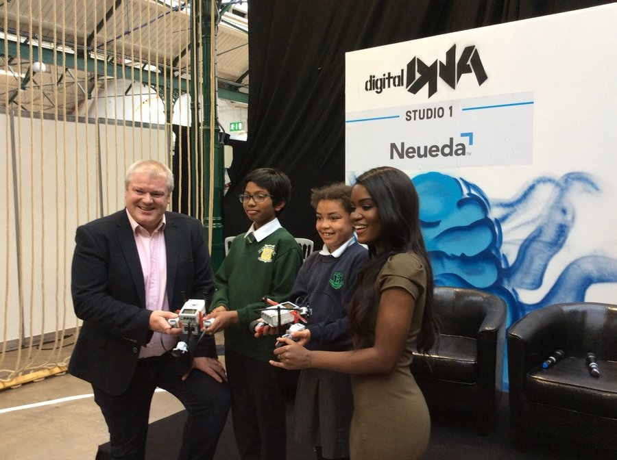 St. Malachy's and Blythfield Primary School both benefit from Neueda coding workshops