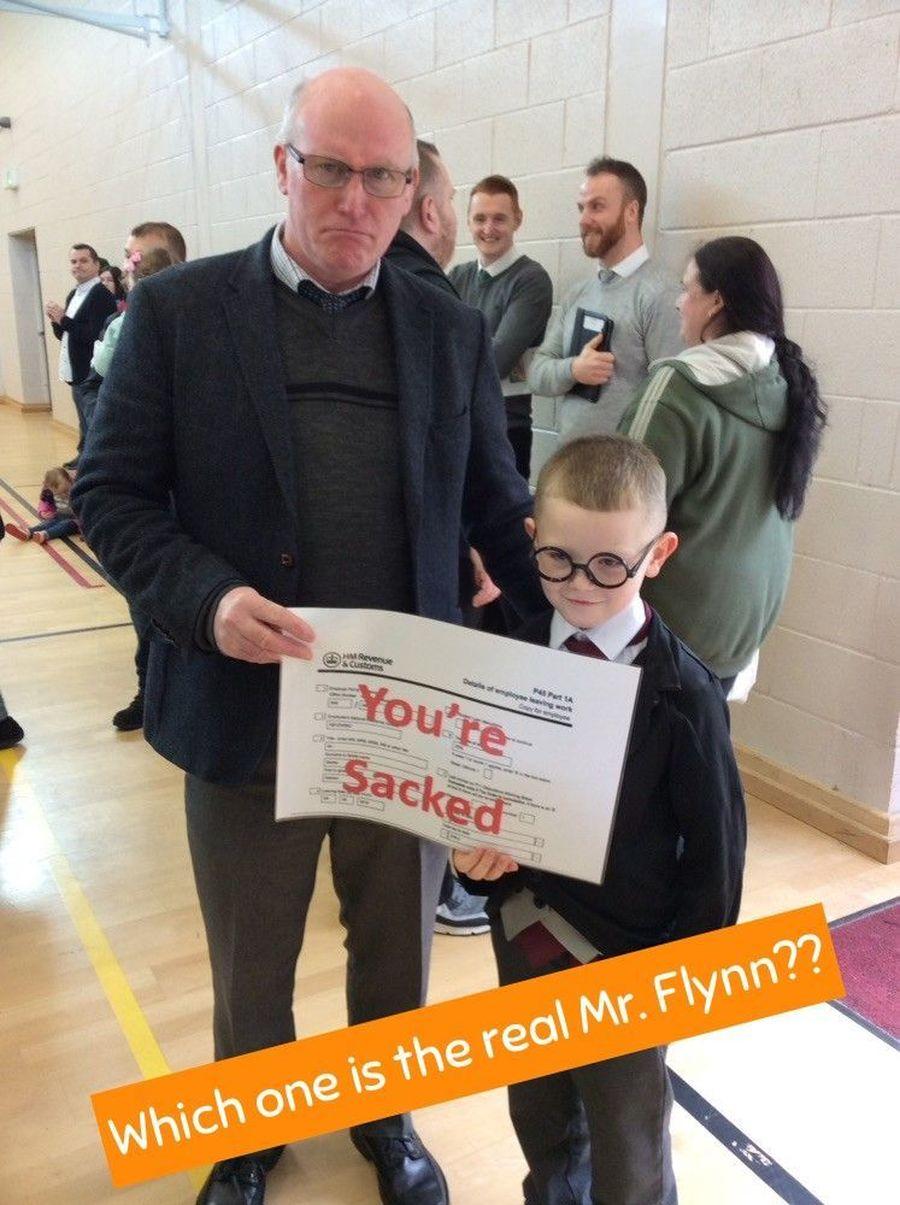 Mr Flynn sacks Mr Flynn!