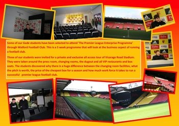 January - Tour of Watford FC