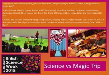 April - British Science Week