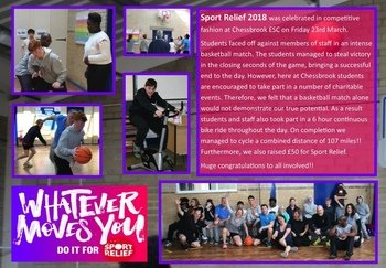 March - Sport Relief