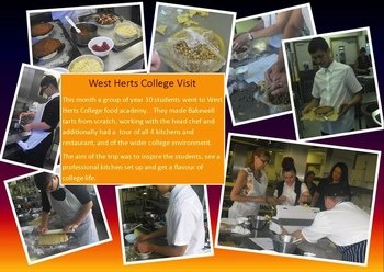 West Herts College Visit - June