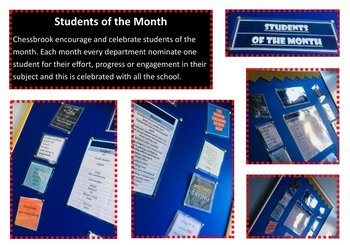 New Students of the Month - September