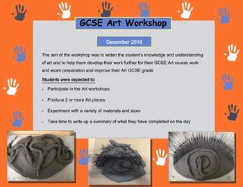 Art GCSE workshop - December