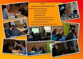 January - Year 11 planning day