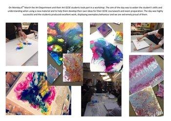 March - GCSE Art Workshop