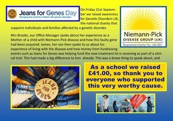 September - Jeans for Genes