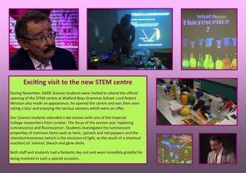November - Visit to New STEM Centre