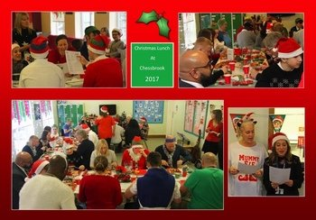 December - Christmas Lunch 2017