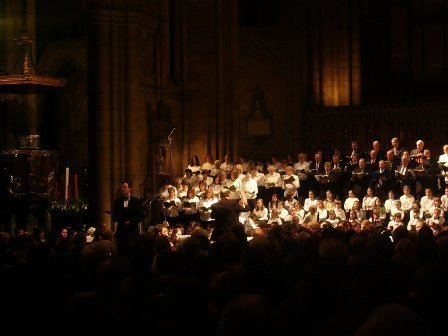 Christmas Spectacular at Ripon Cathedral December 2013