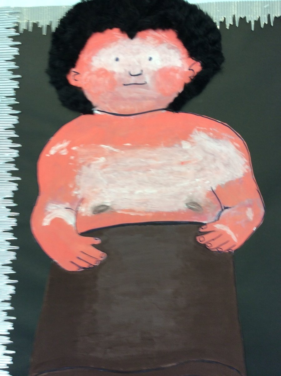 Here is Ug (our Stone Age child)!  We will be reading his story soon!