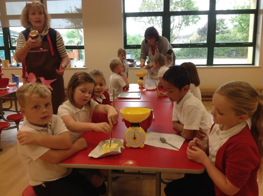 Year 3 practiced their cooking skills and made some Anglo Saxon recipes. Click here for the recipe for Honey Shortbread.