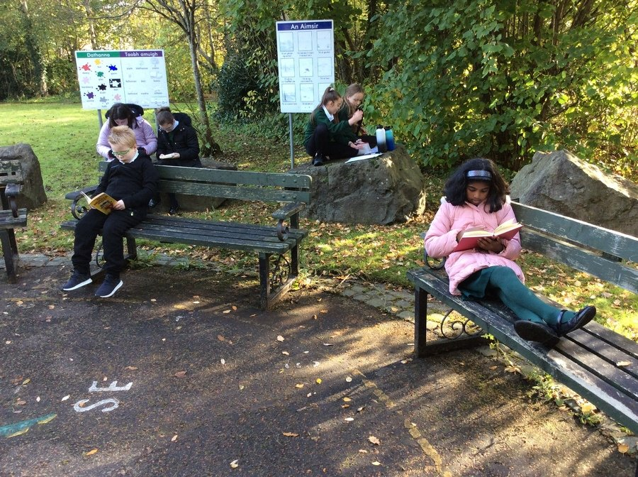 A 'chill-out place' for children who want a quiet break-time
