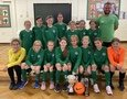 Girl's Football Team