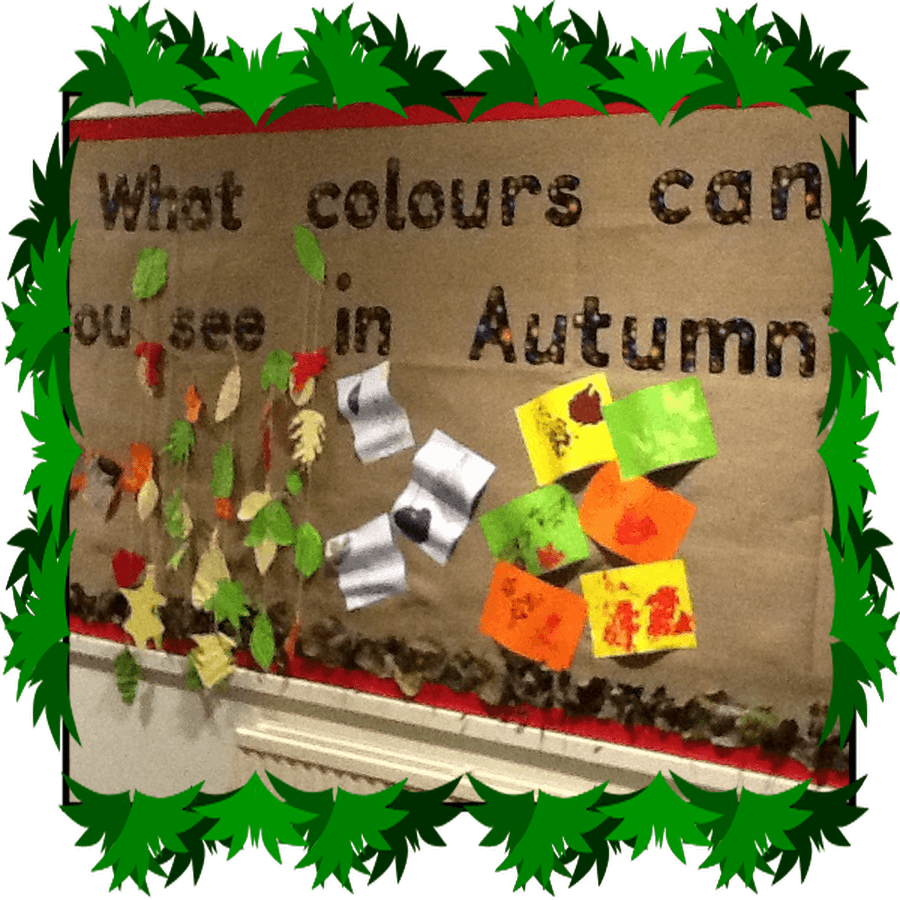 Our Impact Task was a display of Harvest colours using all the skills we learned.