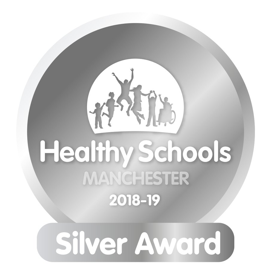 The school was assessed as meeting the standards of a Silver Award under the Manchester Schools criteria