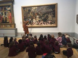 Year 2 visited the National Gallery