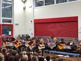 Well done to everyone in our guitar concert