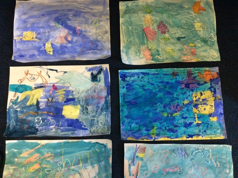 year-4-art-using-water-colours