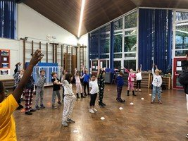 Karate workshop for Year 3