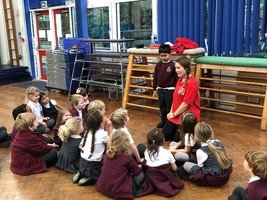 Reception, Year 1 & Year 5 well being workshops