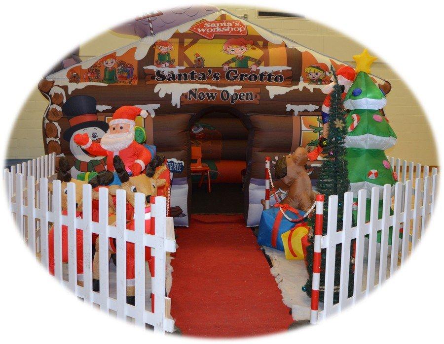 Santa Visits St. Gerard's