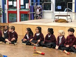 Reception, Year 1 and Year 2 music performance