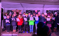 Choir at the Village Switch On<br>