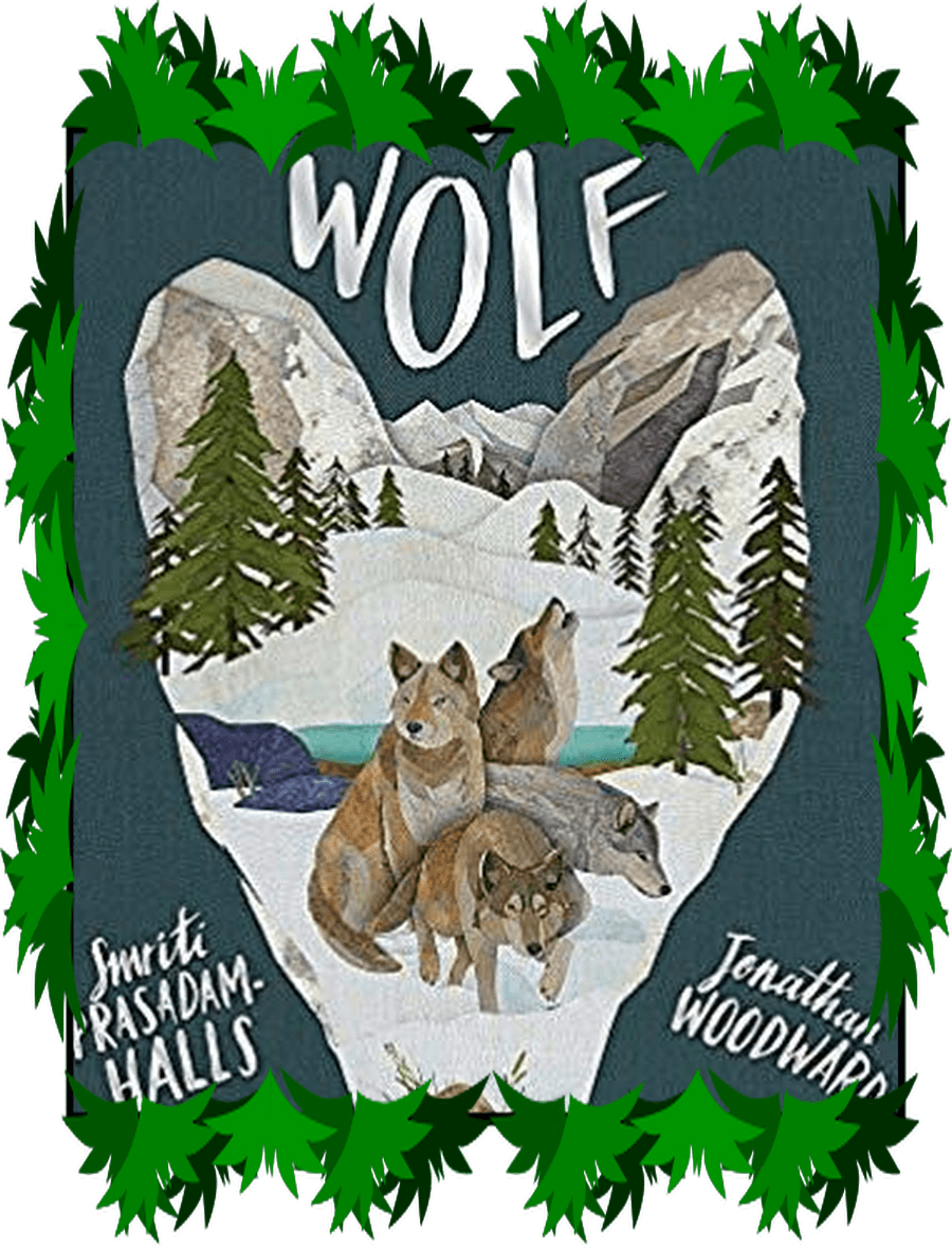 Award winning non-fiction picture book with stunning images of wolves