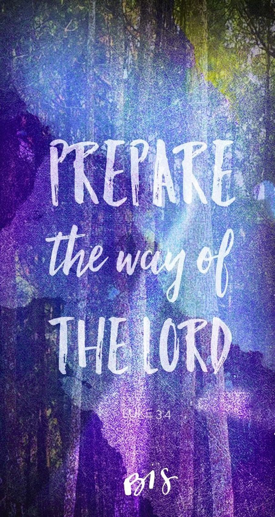 Preparing the way of THE LORD in Holy Spirit