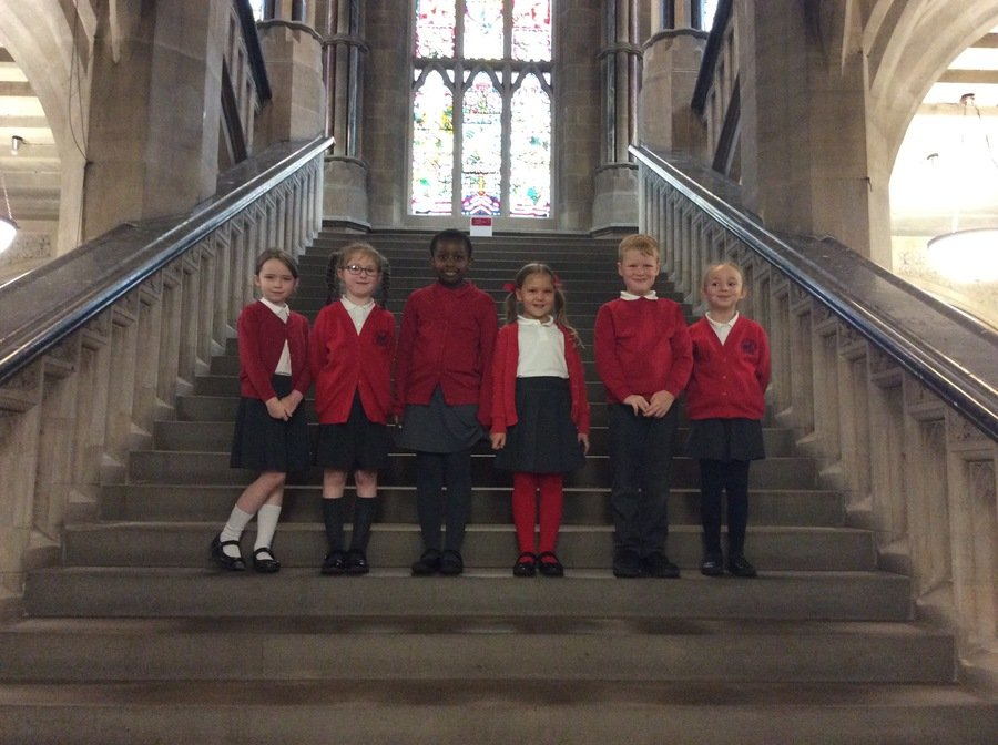In October we visited Rochdale Town Hall