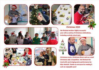 December - Christmas celebrations