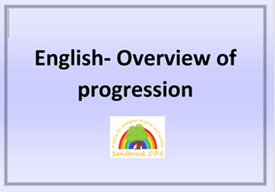 Click to see the overview of progression in English