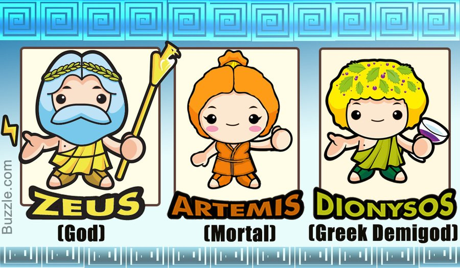 Gods & Mortals: The Greeks