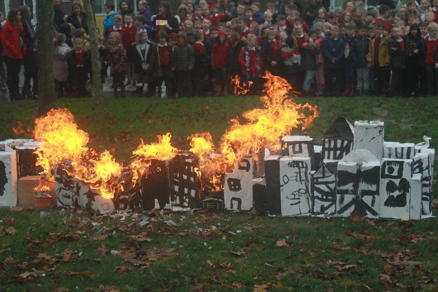 Year 1&2 Learn all about the Great Fire of London