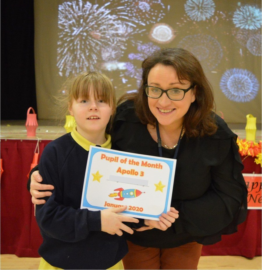Middle & Senior School Pupil of the Month-January