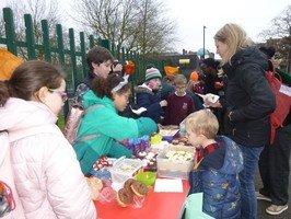 Our School Council cake sale to raise money for recycling bins