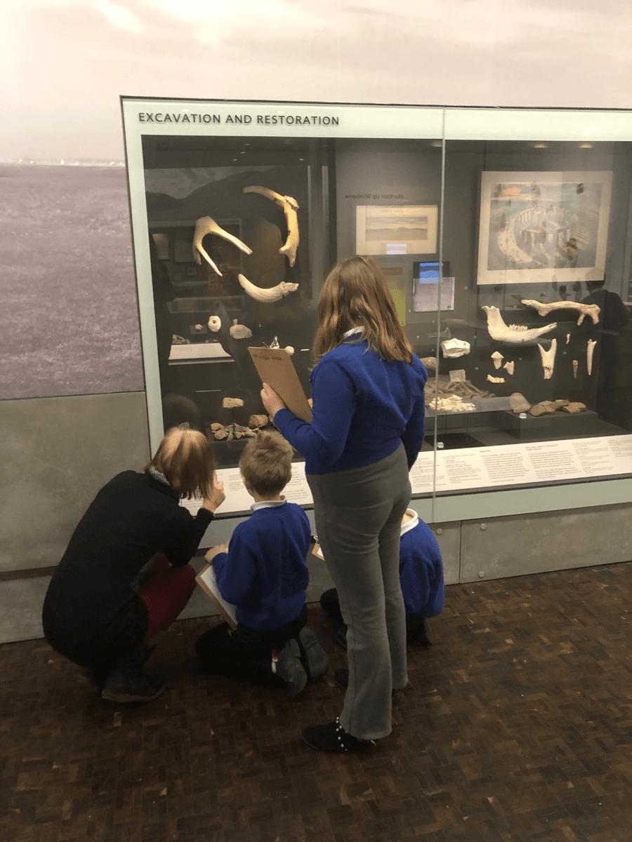 Y3/4 visit to The Salisbury Museum