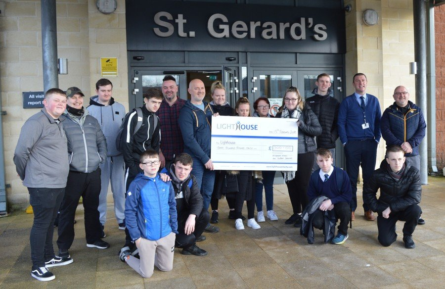 Senior School 'Strive Programme' -Fundraising for local Charity