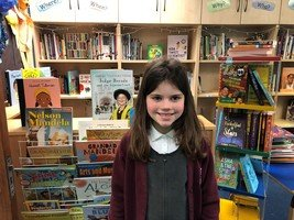 Thank you to Olivia for donating a book to our the library