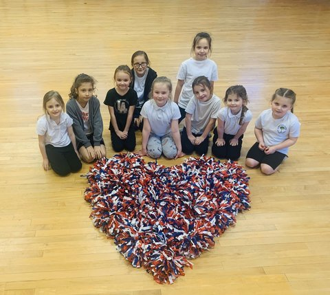 Whole lot of love for our afterschool cheerleading/dance club this Valentine's week!