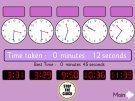 Analogue to Digital Clocks