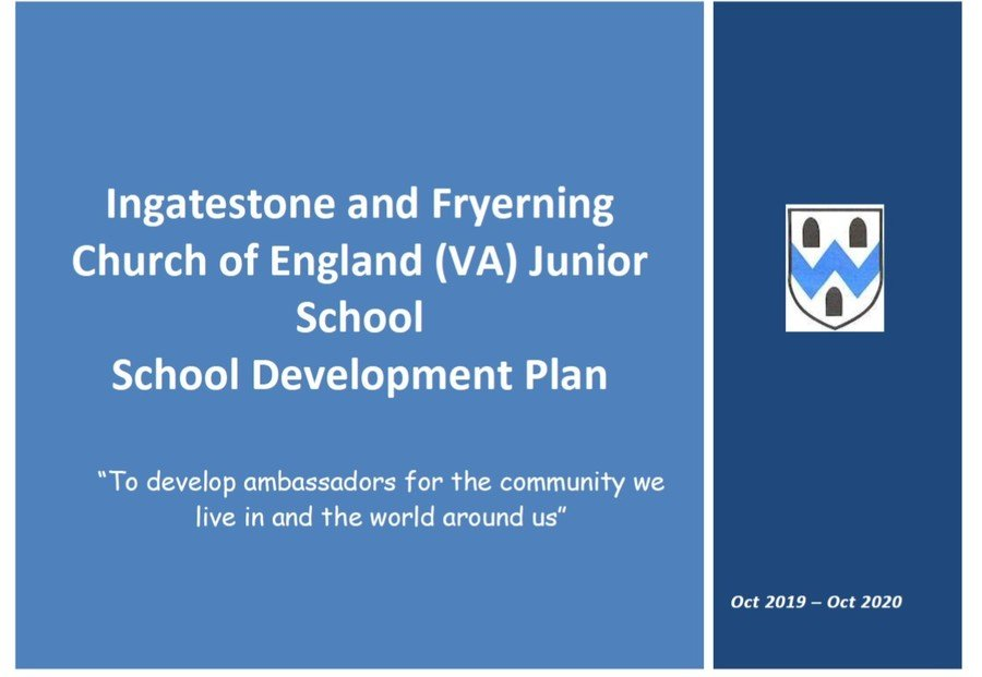 Click to read the School Development plan